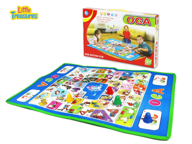 The historical Game of Goose - luxuriously designed in the OCA toy series for beginners; large board for 3+ kids