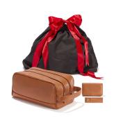 The Gentleman Gift Set - Full Grain Leather - Cognac