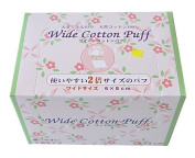 Wide Cotton Puff
