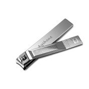 Ayshone Nail Clipper- Best Large Nail Clippers - Sharpest Stainless Steel Nail Clipper - Perfect Gift - Wide