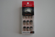 Impress Press-on Manicure Glow in the Dark Halloween Edition Nails - Fangtastic