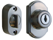 Ideal Security Inc. SK703SS Keyed Deadbolt, Satin Silver