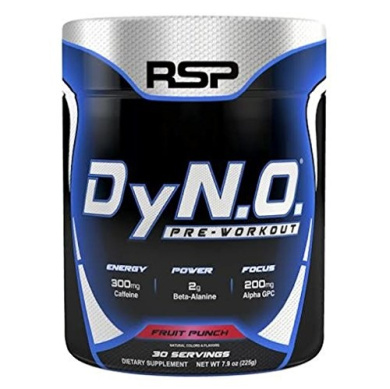 RSP Nutrition DyNO, Fruit Punch, 30 Servings