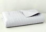 Oake Bedding Canto Full/Queen Coverlet Grey