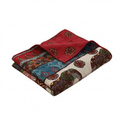 Barefoot Bungalow GL-1609BTHR Kandula Desert Quilted Throw Blanket