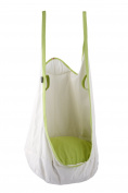 Eggdel Frog Hanging Pod Swing Seat Indoor and Outdoor Hammock for Children to Adult - White