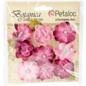 Botanica Baby Blooms 3.2cm 9/Pkg-Fuchsia
