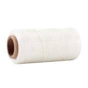 Kmise 260 Metre 1mm 150D White Leather Sewing Flat Waxed Dacron Thread Cord DIY Thread 1 Pcs