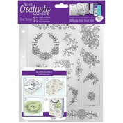 CE907123 Creativity Essentials A5 Clear Stamps - Floral Icons