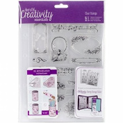 CE907112 Creativity Essentials A5 Clear Stamp Set - Musicality
