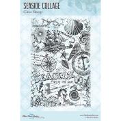 Blue Fern Studios Clear Stamp - Seaside Memories