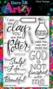 Dare 2B Artzy The Potter (16230) Clear Cling Rubber Stamps