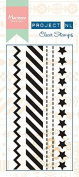 Marianne Designs Border Stamp-Stars