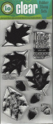 Impression Obsession Oak Set Cling Rubber Stamp WP686