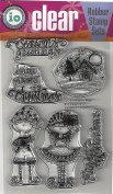 Impression Obsession Believe In Magic Cling Rubber Stamp CL700