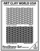 Flexistamps Texture Sheet Set Bridges Set (Including Bridges and Bridges Inverse)- 2 Pc.
