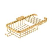 Deltana WBR1051HCR003 25cm Rectangular Wire Basket with Hook