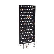 Slim Wall Earring Holder Rack Display Jewellery Storage Closet Organiser - Angelynn's