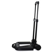 LOHOME® Luggage Hand Truck, Compact Folding Cart Telescopic Rod Cart Personal 70kg Capacity Shifter