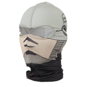 Breathable Nylon Balaclava - Grey Cyborg