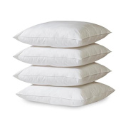 4-Pack Hypoallergenic Down-Alternative, Bed Pillow