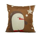 Beautyvan Soft Christmas Pillow Case Sofa Waist Throw Cushion Cover Home Decor