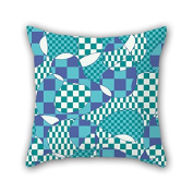 PaPaver Geometry Christmas Pillow Shams 18 X 18 Inches / 45 By 45 Cm For Shop Kids Boys Bench Wedding Office Kids Boys With Two Sides