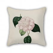 PaPaver Flower Christmas Pillow Covers 20 X 20 Inches / 50 By 50 Cm Gift Or Decor For Boys Home Family Wedding Study Room Christmas - Twice Sides