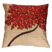 "Vovotrade Halloween Pillow Case Sofa Flowe Tree Waist Throw Cushion Cover Home Decor17.18cm x 17.7"""
