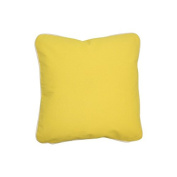 Pillow Yellow With Green Eco Friendly Insert 16 x 16