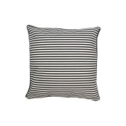 Pillow Navy Stripes With Green Eco Friendly Insert 16 x 16
