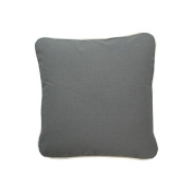 Pillow Grey With Green Eco Friendly Insert 16 x 16