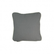 Pillow Grey With Green Eco Friendly Insert 12 x 12