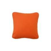 Pillow Orange With Green Eco Friendly Insert 12 x 12