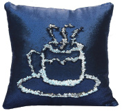 Fengheshun Reversible Sequins Pillowcase Mermaid Pillow Covers 40×40 cm Two Colour Changing