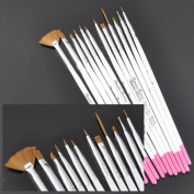 Beauties Factory BF 12 x Professional Nail Art Drawing & Painting Pen Polish Brush Set CODE