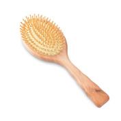 Rosette Hair Air cushion Wooden Massage Comb Detangling Hair Brush For All Hair Types, Natural Wood Bristles Pin, Anti Static, Prevent Hair Loss