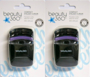 2 - Compact Eyelash Curler w/ Refill Innovative Technology