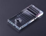 WellieSTR 2 in 1 New Eyelash Holder & Glue Pallet Eyelash Separator Pallet Eyelash Crystal Stone Adhesive Glue Holder