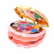 Orangeskycn 18 Colour Makeup Eyeshadow+2 Colour Powder+1 Colour Blush+5 Colour Lipstick Set