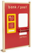 Inspirational Nurseries Bank/Post Office Panel, Red
