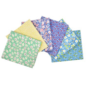 iNee Fat Quarters Quilting Fabric Bundles, Cotton Fabric for Quilting Sewing, 46cm x 60cm