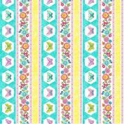 Blossom by Deborah Edwards from Northcott 100% Cotton Quilt Fabric 21099 63 Lollipop