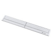 Quilting Sewing Aligned Ruler Patchwork Grid Cutting Ruler 30cm