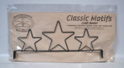 Classic Motifs 30cm 3 Star Header Craft Holder