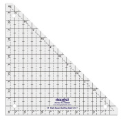 45° Half Square Shape Quilt Designing and Crafting Quilting Ruler Template 17cm