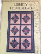 Liberty Homestead The North Star quilt pattern 60cm x 90cm