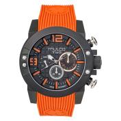 Mulco MW5-4271-305 Two 104 Collection Orange Silicone Band