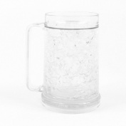Freezer Mug - Double Wall -470ml Capacity - Clear