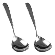 (Set of 2) Stainless Steel Buffet Serving Spoon 21cm